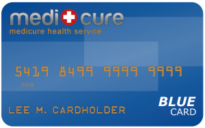 Medicure Blue Card