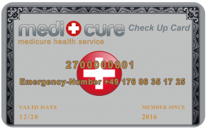 Medicure Check Up Card