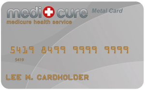 Medicure Metal Card