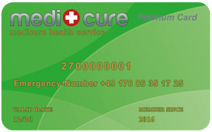 Medicure Platinum Card