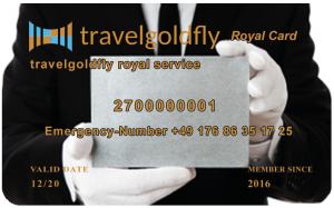 Travelgoldfly Royal Card